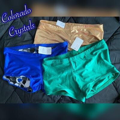 Booty Shorts Adult New M/L Audition gear