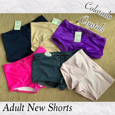 Booty Shorts Adult New Medium Audition gear