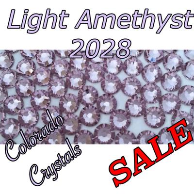 Light Amethyst Swarovski Clearance Rhinestones 12ss