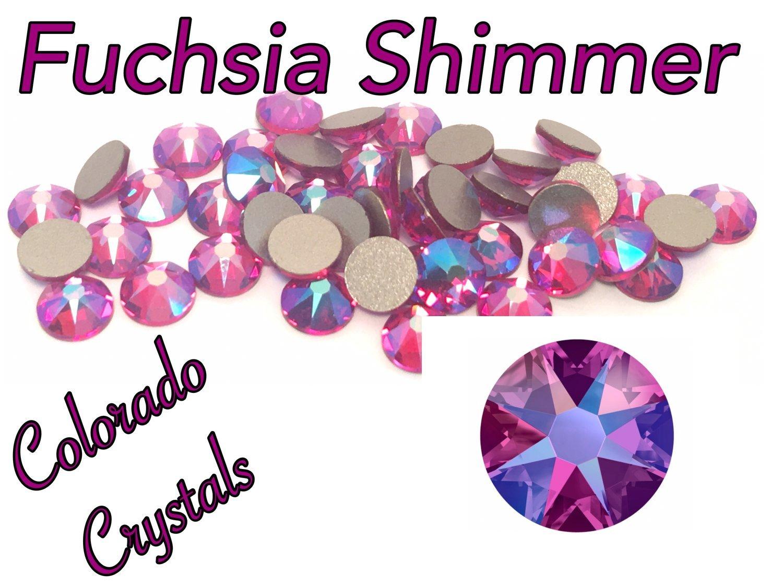 Fuchsia Shimmer 16ss 2088 Limited Swarovski XIRIUS Rose Crystal Passions