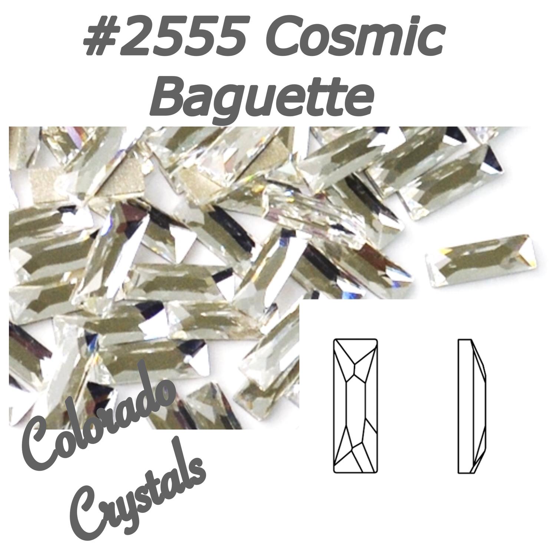 2555 Cosmic Baguette Flatback Swarovski Rhinestones