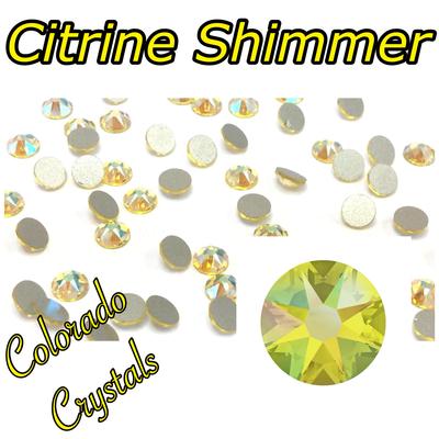 Citrine Shimmer 12ss 2088 Limited Swarovski