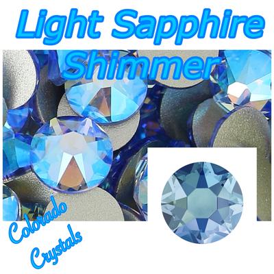 Light Sapphire Shimmer 9ss Swarovski Crystals