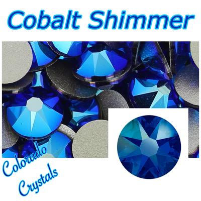 Cobalt Shimmer 16ss Limited Swarovski Crystals