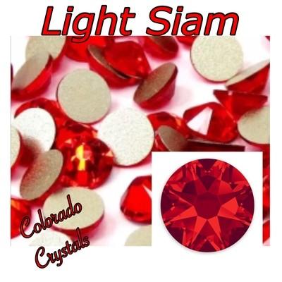 Light Siam 16ss 2088 Red Rhinestones Swarovski