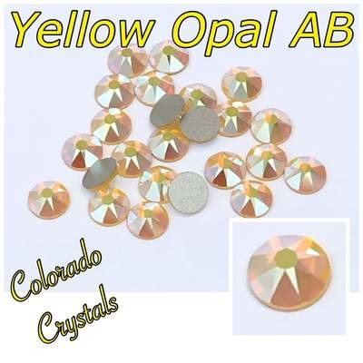 Yellow Opal AB 20ss 2088 Limited Crystals