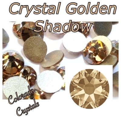 Crystal Golden Shadow 9ss 2058 Swarovski Elements