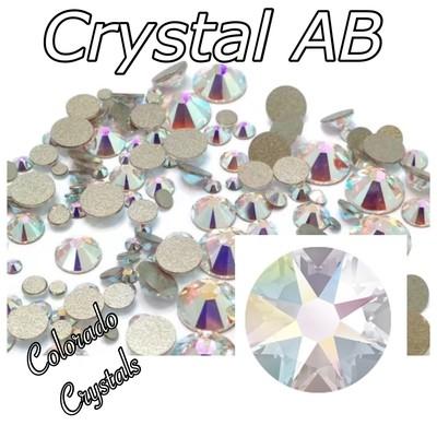 Crystal AB 7ss 2058 Swarovski Elements Rhinestones