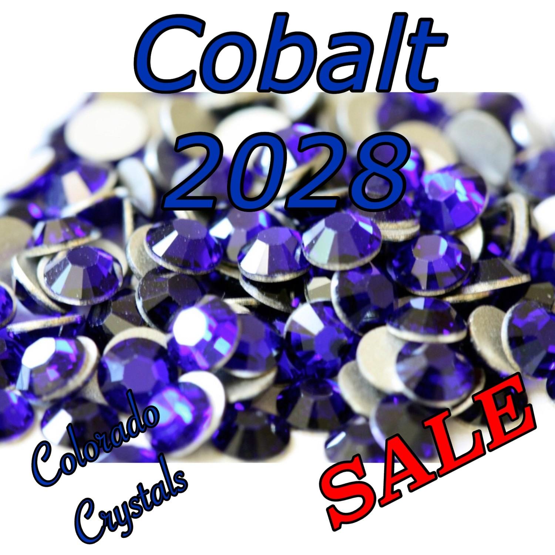 Cobalt Clearance Swarovski Rhinestones 5ss
