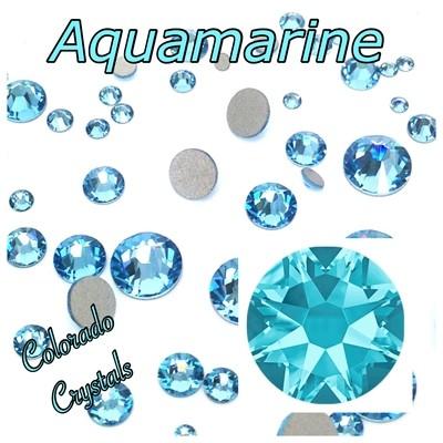 Aqua 5ss (Aquamarine) 2058 Limited Swarovski Nail Art