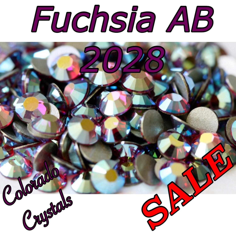 Fuchsia AB Swarovski Clearance Rhinestones 5ss