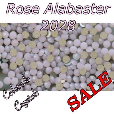Rose Alabaster On Sale Swarovski Rhinestones 16ss Pink
