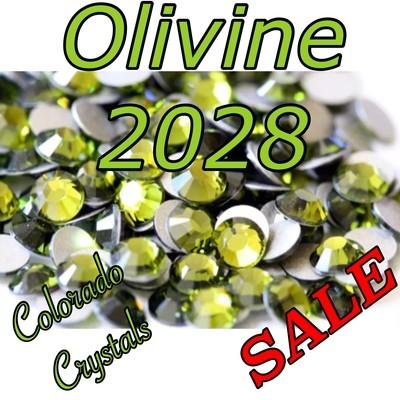 Olivine Swarovski low price rhinestones 5ss