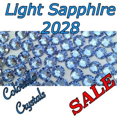 Light Sapphire Swarovski Sale Rhinestones 5ss