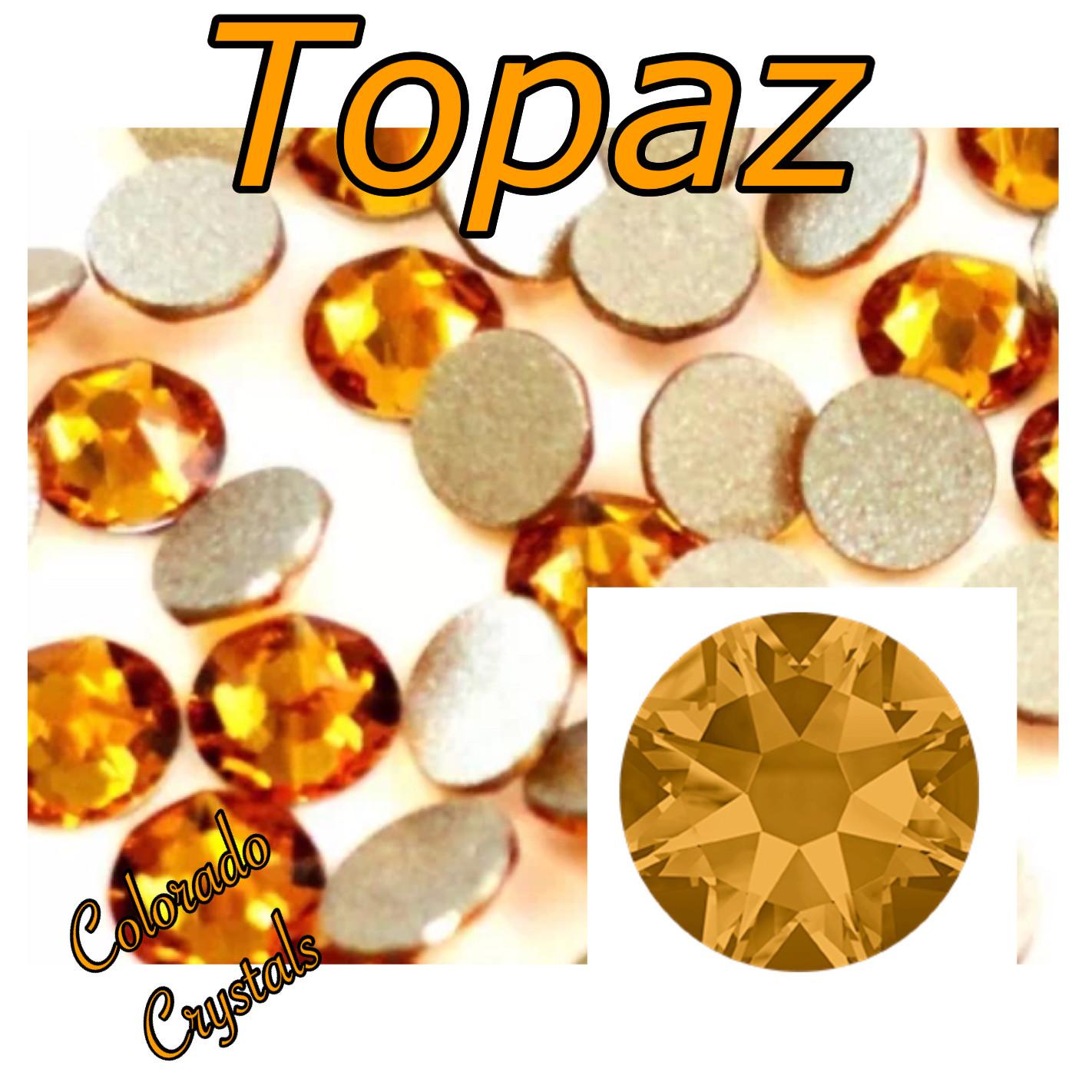Topaz 16ss 2058 Discounted Swarovski Rhinestones Elements