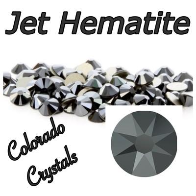 Jet Hematite 16ss 2088 Limited Swarovski Black Crystals