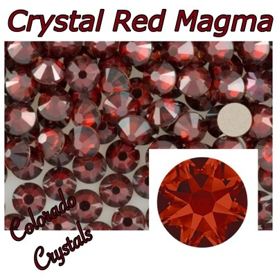 Red Magma Discount 30ss 2088 Limited Crystals