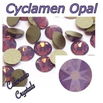 Cyclamen Opal 12ss 2088 Reduced Price Crystals