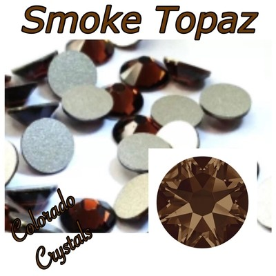 Smoke Topaz 20ss 2088 Limited Swarovski Brown Bling