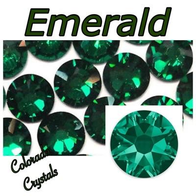 Emerald 16ss 2088 Limited Swarovski Crystals
