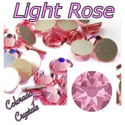 Light Rose 16ss 2088 Pink rhinestones Swarovski