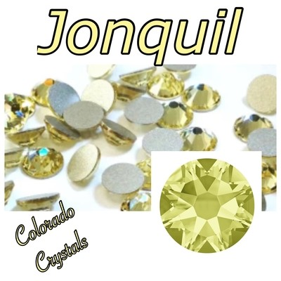 Jonquil 16ss 2088 Limited Yellow Rhinestones