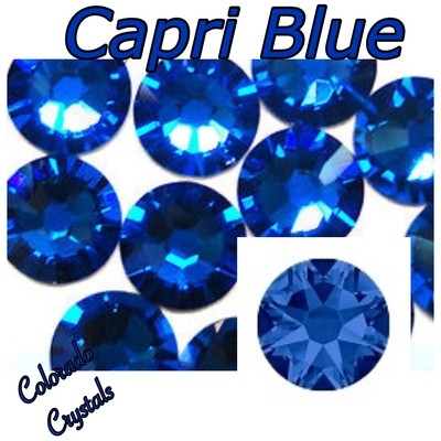 Capri Blue 9ss 2058 Limited Swarovski Nail Art Crystals
