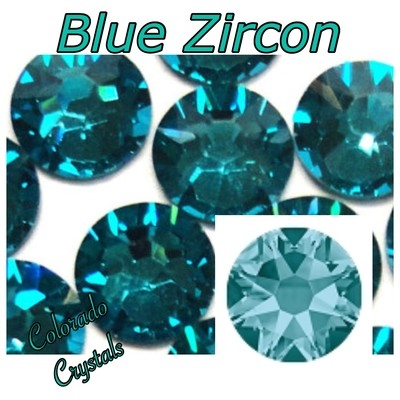 Blue Zircon 20ss 2088 Limited Swarovski Crystals