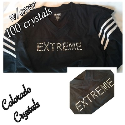 Crystal T-Shirt Swarovski Custom