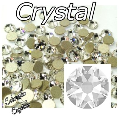 Crystal 7ss 2058 Nail Art Size Clear Rhinestones Swarovski