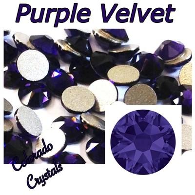 Purple Velvet 9ss 2058