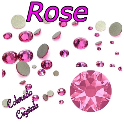 Rose 34ss 2088 Limited Large round crystals