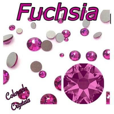 Fuchsia 30ss 2088 Limited Swarovski Crystals