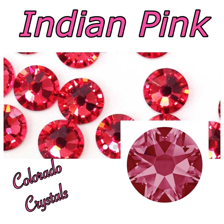 Indian Pink 9ss 2058 Limited Swarovski Nail Art size Bling