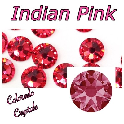 Indian Pink 9ss 2058 Limited Swarovski Nail Art size Bling
