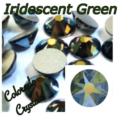 Iridescent Green (Crystal) 5ss 2058
