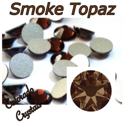 Smoke Topaz 9ss 2058 Swarovski Brown Crystals
