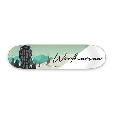 Skateboard Deco Deck - Wörthersee