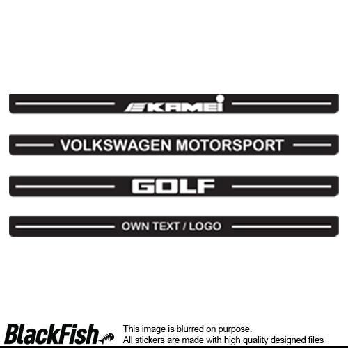 VW Golf MK 2 Door Sills