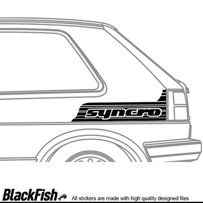 VW Golf / Jetta MK2 Quarter Sticker