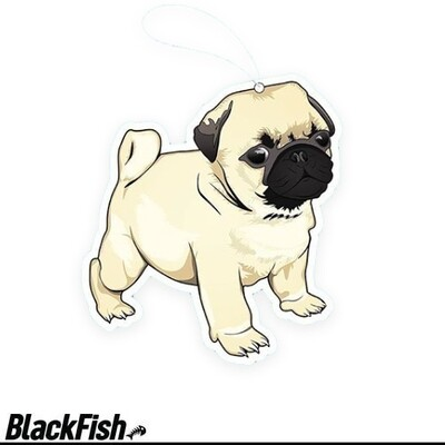 Air Refreshener - Pug Pup