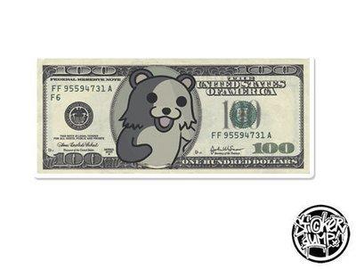100 Dollar Bill Pedobear