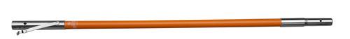 8' Fiberglass mid-pole (male and female coupling)