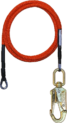 1/2 in x 12' Wire Core Lanyard