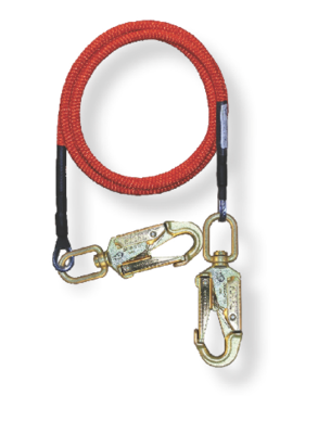 5/8 in x 12' Wire Core Lanyard with 2 Swivel Snaps