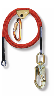 5/8 in x 15' Wire Core Lanyard Kit