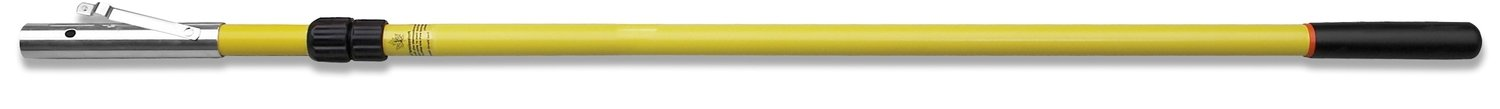12' telescopic pole with female ferrule and rubber end cap