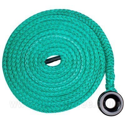 Extra Large Ring on a 25 ft 3/4 in Tenex Straight Sling