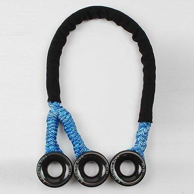 Notch X-Rigging Ring Triple Sling—3 Large rings, 1/2 in Tenex sling