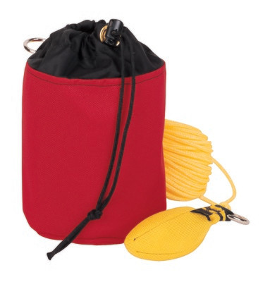 Throw Line Storage Bag — Small, Red